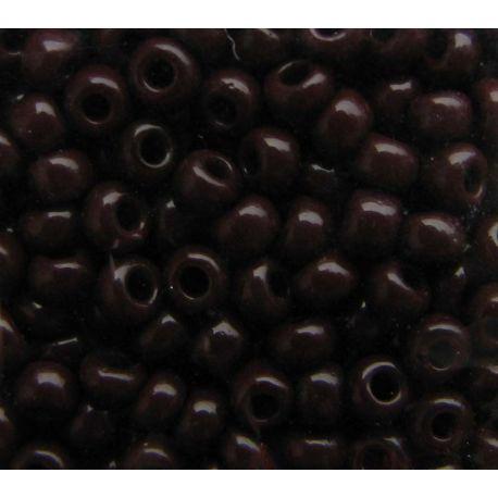 Preciosa biseris (13780) tamsiai rudos spalvos 50 g