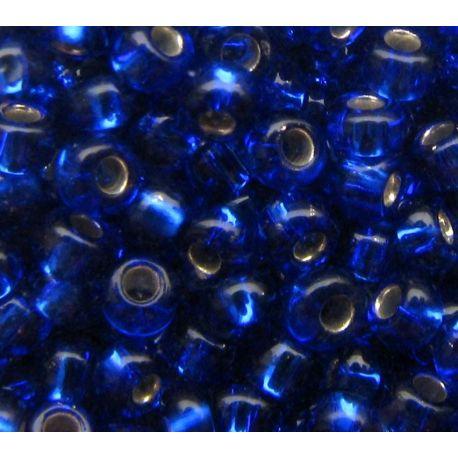 Preciosa Seed Beads (37110-10) transparent blue 50 g