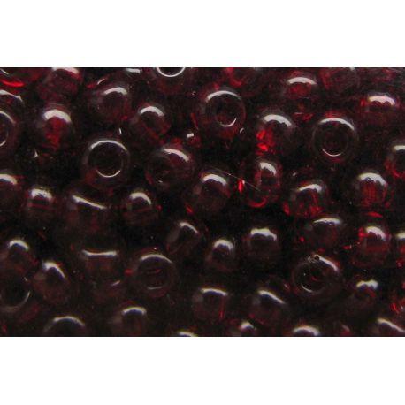 Preciosa Seed Beads (00424-10) transparent red color 50 g
