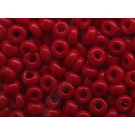 Preciosa Seed Beads (00528-10) red 50 g