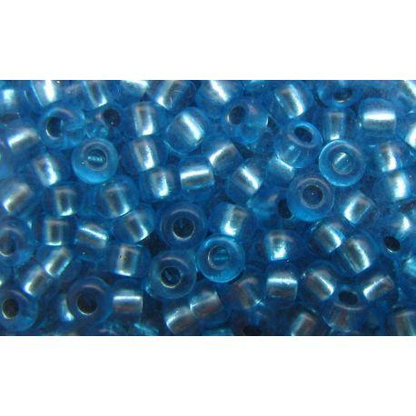 Preciosa Seed Beads (00842-10) transparent blue 50 g