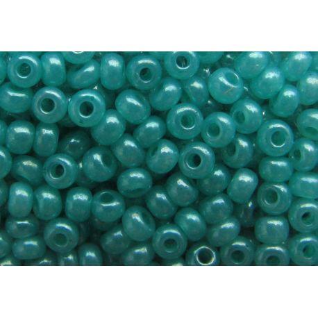 Preciosa Seed Beads (17358-10) bluish-green 50 g
