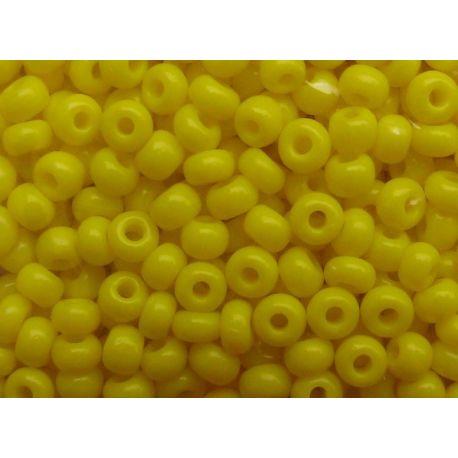 Preciosa Seed Beads (00526-10) yellow 50 g