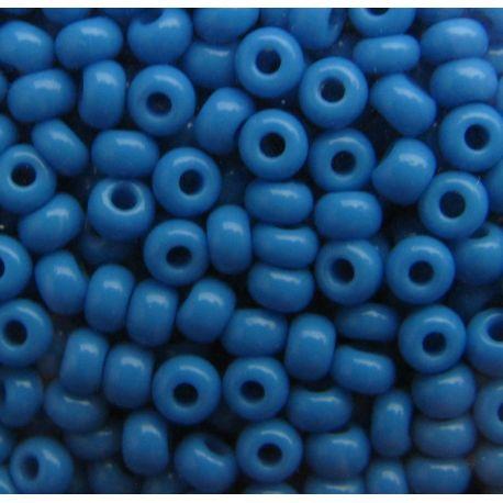 Preciosa Seed Beads (63080-10) blue 50 g