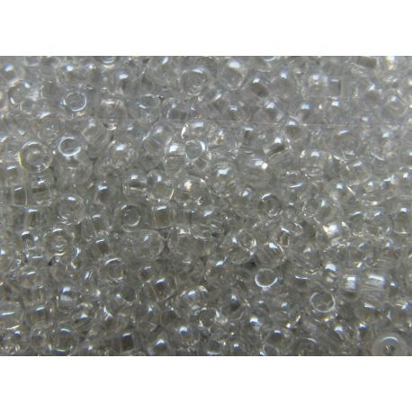 Preciosa Seed Beads (48102-10) transparent glossy 50 g