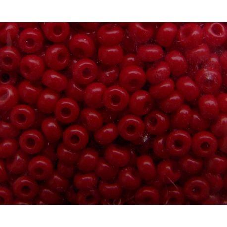 Preciosa Seed Beads (93210-11) burgundy color 50 g