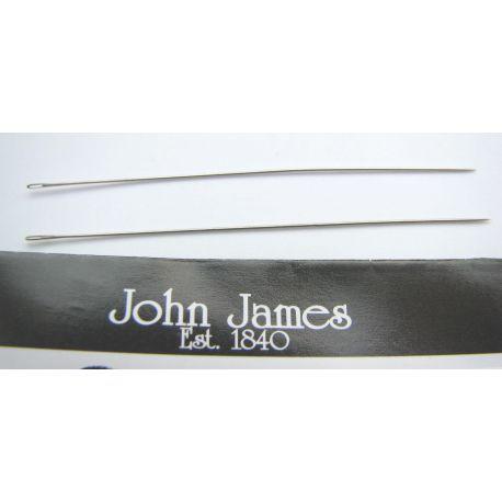 John James muuli nõel on mõeldud seemnehelmestele 1 tk. Suurus 12