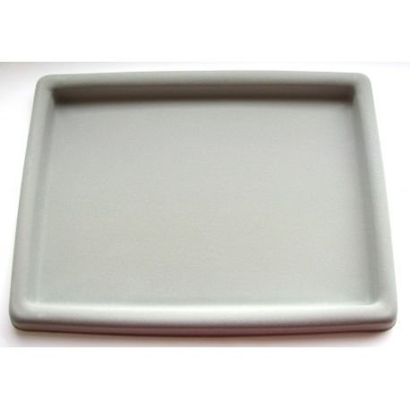 Table for opening, grey, corduroy coated, 265x200x20 mm