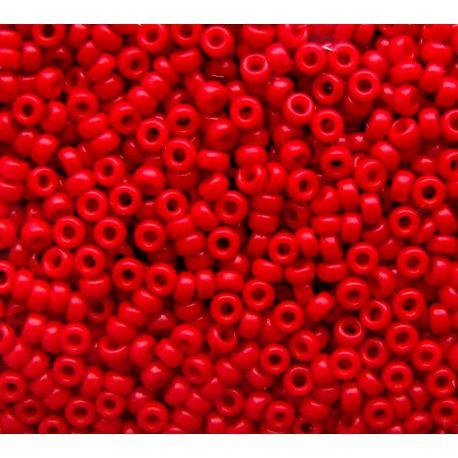 MIYUKI biseris (1684) ryškios raudonos spalvos 15/0 5 g