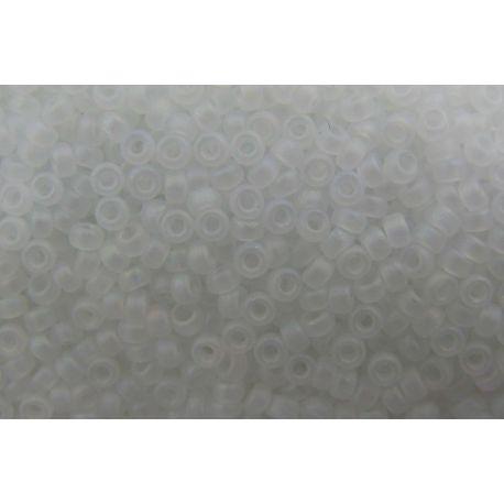 MIYUKI biseris (131FR) baltos spalvos, matiniai, 15/0 5 g