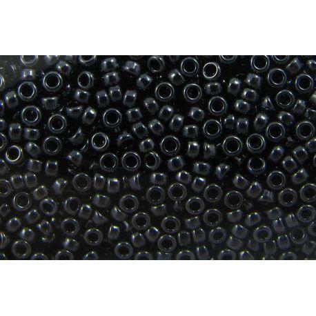 MIYUKI Seed Beads (451) hematite (gunmetal), 15/0 5 g