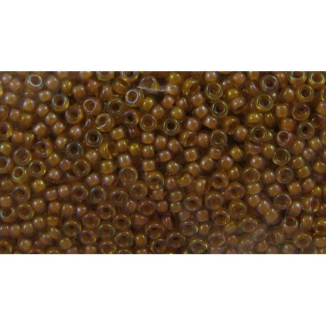 MIYUKI Seed Beads (2238) clear, middle yellow 15/0 5 g