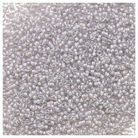 MIYUKI Seed Beads (2209) clear, middle lilac color 15/0 5 g