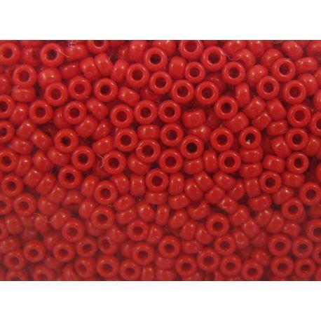 MIYUKI Seed Beads (408) bright red, 15/0 5 g