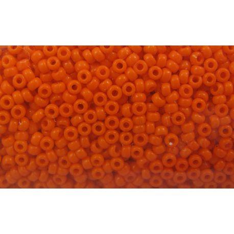 MIYUKI biseris (406) ryškiai oranžinės spalvos, 15/0 5 g