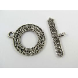 Necklace clasp 29x24 mm, 1 dial
