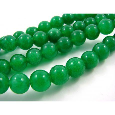 Jade helmest niit roheline ümmargune kuju 10 mm