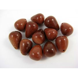 Solar stone beads 12x18 mm