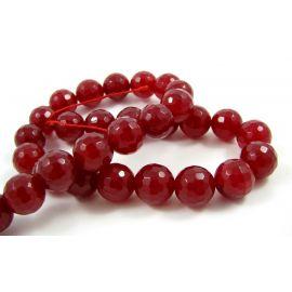 Jade beads strand 12 mm