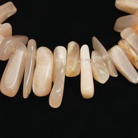 Natural solar stone bead thread