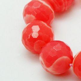 Rhodocrosite beads 8 mm, 1pcs.