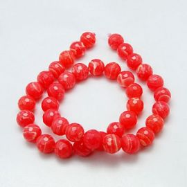 Rhododendral beads strand 8 mm