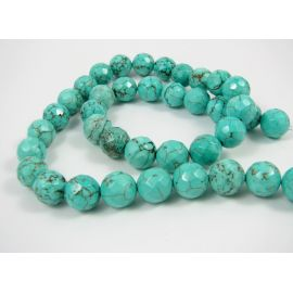Turquoise beads strand 10 mm