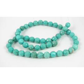 Turquoise bead thread 8 mm