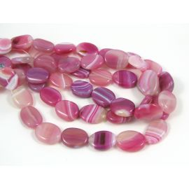 Agate beads 20x15 mm