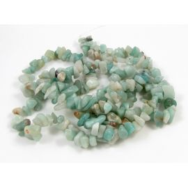 Amazonite chipping strand12x8 mm, 90 cm