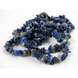Lapis Lazuli skaldos gija 8x6 mm 90 cm