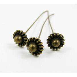 Decorative pin 58x0.8 mm, 6 pcs.