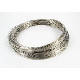 Wire with memory for necklace 115 mm - 0.60 mm, 10 rings
