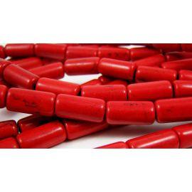 Sünteetilised türkiissinised helmed 13x6 mm