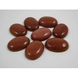 Солнечный камень кабошон 30х22 мм