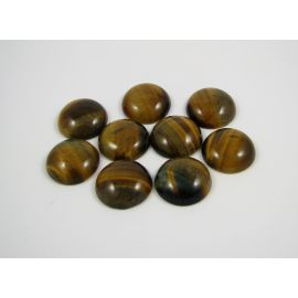 Tiger eye cabochon 22 mm