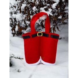 Santa Claus candy pants, little giveaway, size about 17x14 cm