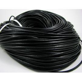 Кожаный шнур 3,00 мм 1 м