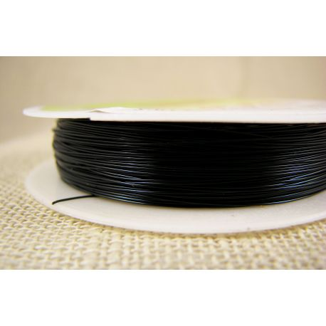 Brass wire, black, thickness appre about 0.30 mm, apprelic 28 meters