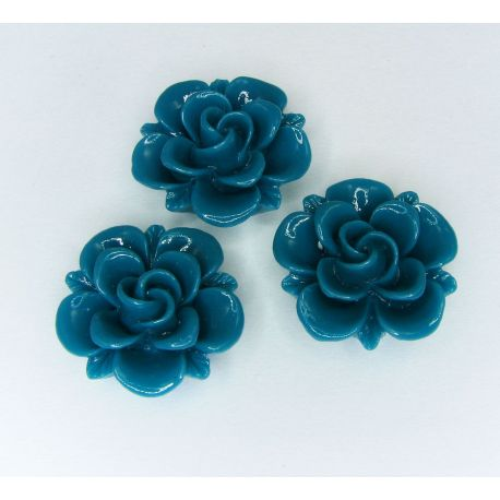 "Kama ""Flower"" for the manufacture of jewelry green 19x9 mm"
