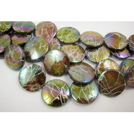 Shell beads 20 mm, 1 pc.