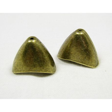 Hat for jewelry making aged bronze 20x16x12.5 mm