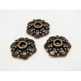 Beads caps 12 mm, 10 pcs.