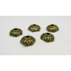 Beads caps 9 mm, 10 pcs.