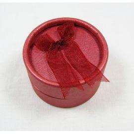 Коробка подарочная, картон, красный 53x32 мм, 1 шт.