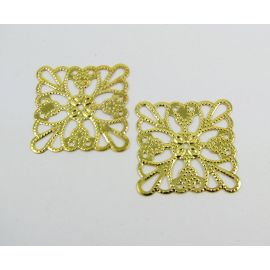 Openwork plate 24 mm, 10 pcs.