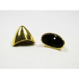 Krelles cepures 20x16 mm, 6 gab.