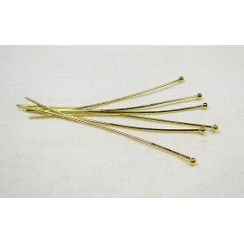Brass pins 54x0.7 mm, ~100 pcs. (20 g)