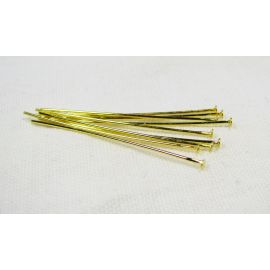 Brass pins 35x0.6 mm, ~100 pcs. (9,50 g)