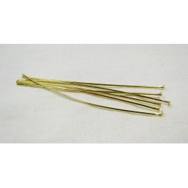 Brass pins 60x0.7 mm, ~100 pcs. (20,70 g)